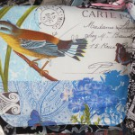 Blue Bird Messenger Bag