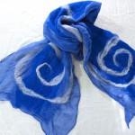 Blue Nuno Scarf