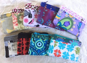 Zip wallets with Card Pockets