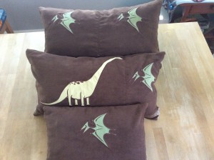 Dinosaur Pillows